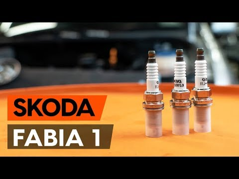 Как заменить свечи зажигания на SKODA FABIA 1 (6Y5) [ВИДЕОУРОК AUTODOC]