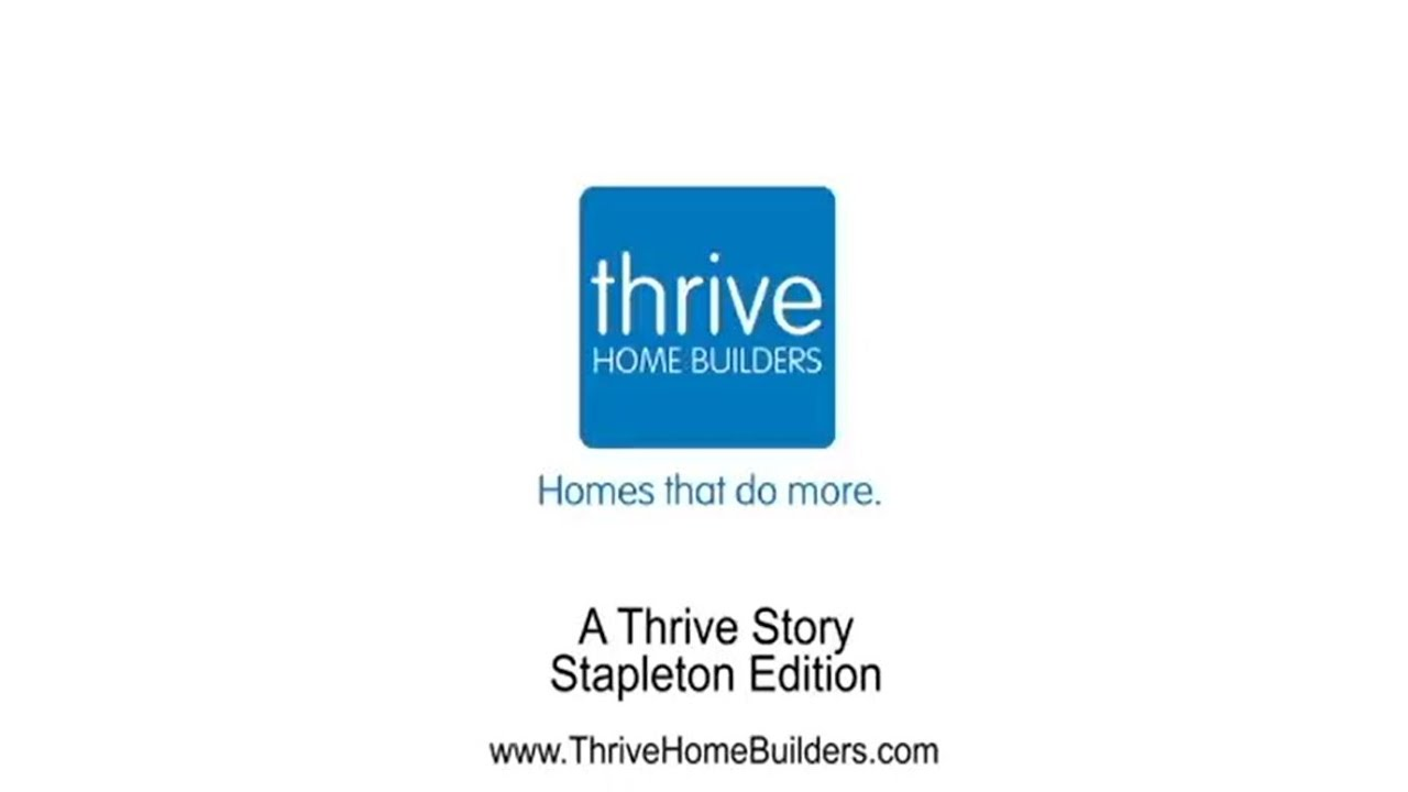 A thrive story homeowner interview stapleton edition for Thrive homes denver