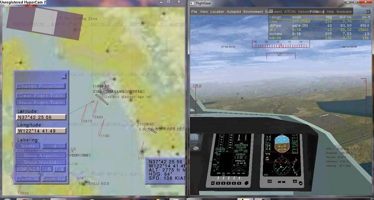 FlightGear: Using the Atlas   YouTube