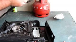 Мой помощник - газовая печка