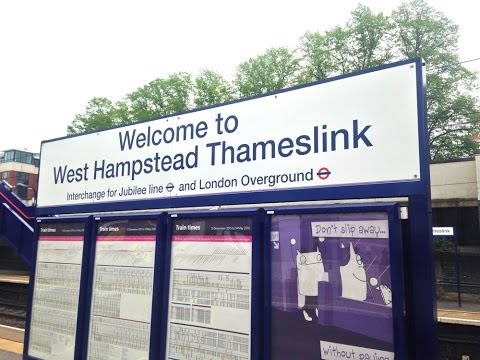 Full Journey on Thameslink (Class 319) from West Hampstead Thameslink to Sevenoaks (via Catford)