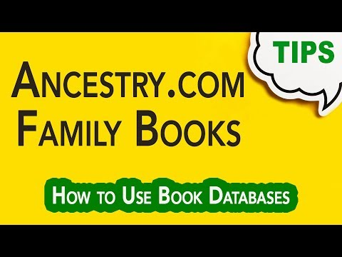 GC-061   Searching Book Databases on Ancestry.com    Genealogy Clips