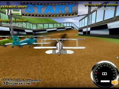 3D Uçak Yarışı | 3D Oyunlar