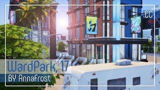 The Sims 4: Строительство | Многоквартирный дом в Дель-Соль-Вэлли | WardPark Drive, 17
