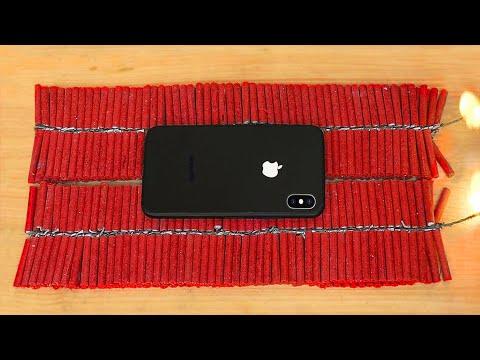 iPhone 11 Vs FIREWORKS!