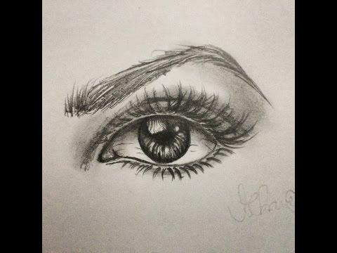 Como Desenhar Olho Realista Passo A Passo Youtube
