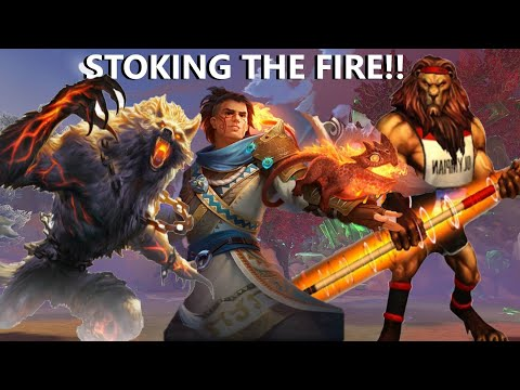 STOKING THE FIRE AND WEIRD MATCHUPS FOR AN HOUR? - Grandmasters Ranked 1v1 Duel - SMITE