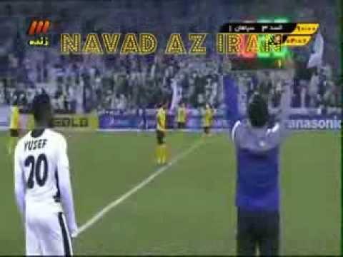Goals Sepahan Esfahan Iran 1 3 Al Saad Qatar سپاهان اصفهان السد قطر AFC Football Soccer