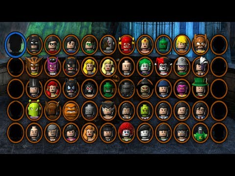 LEGO Batman 2 DC Super Heroes - All Gold Bricks in Goth ...