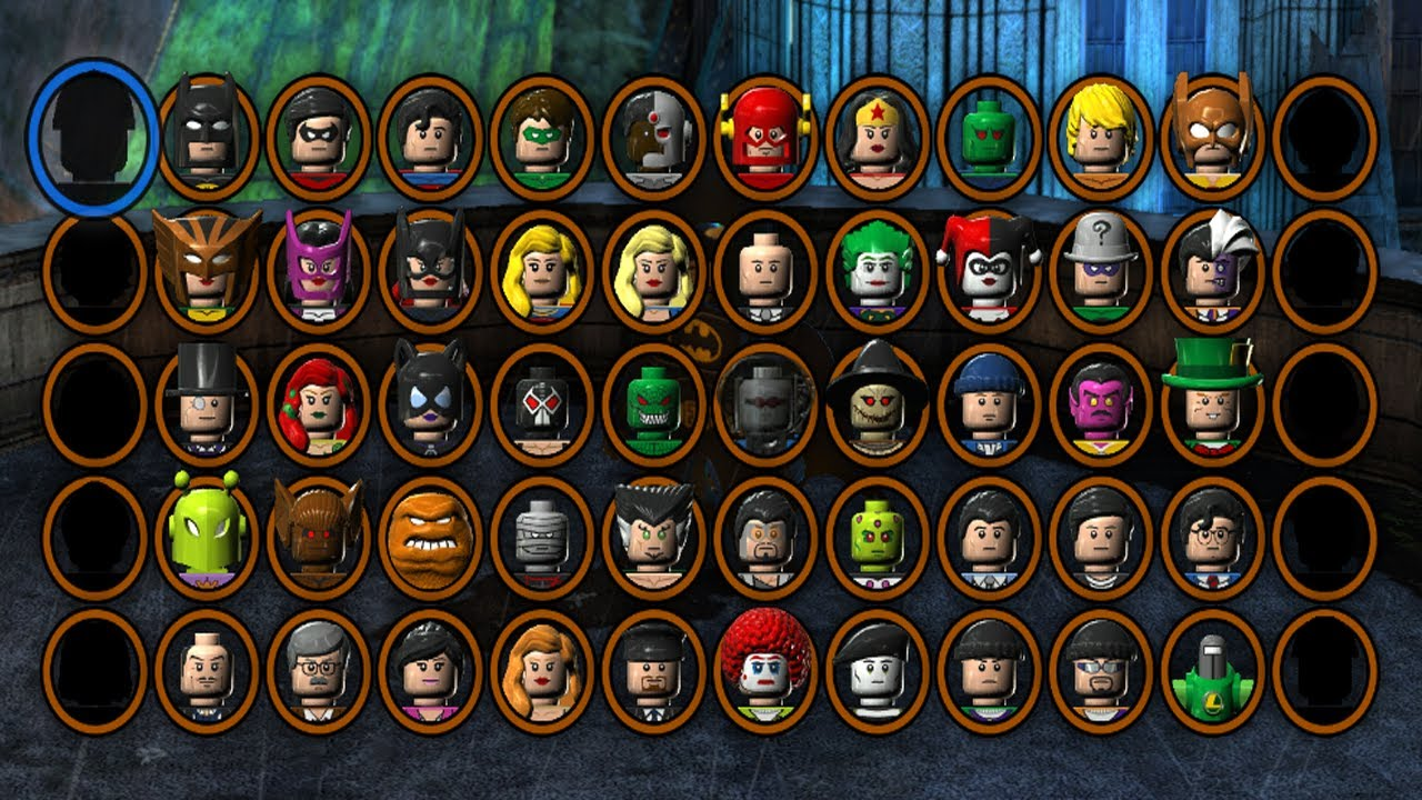 LEGO Batman 2 DC Superheroes - All Characters Unlocked ...