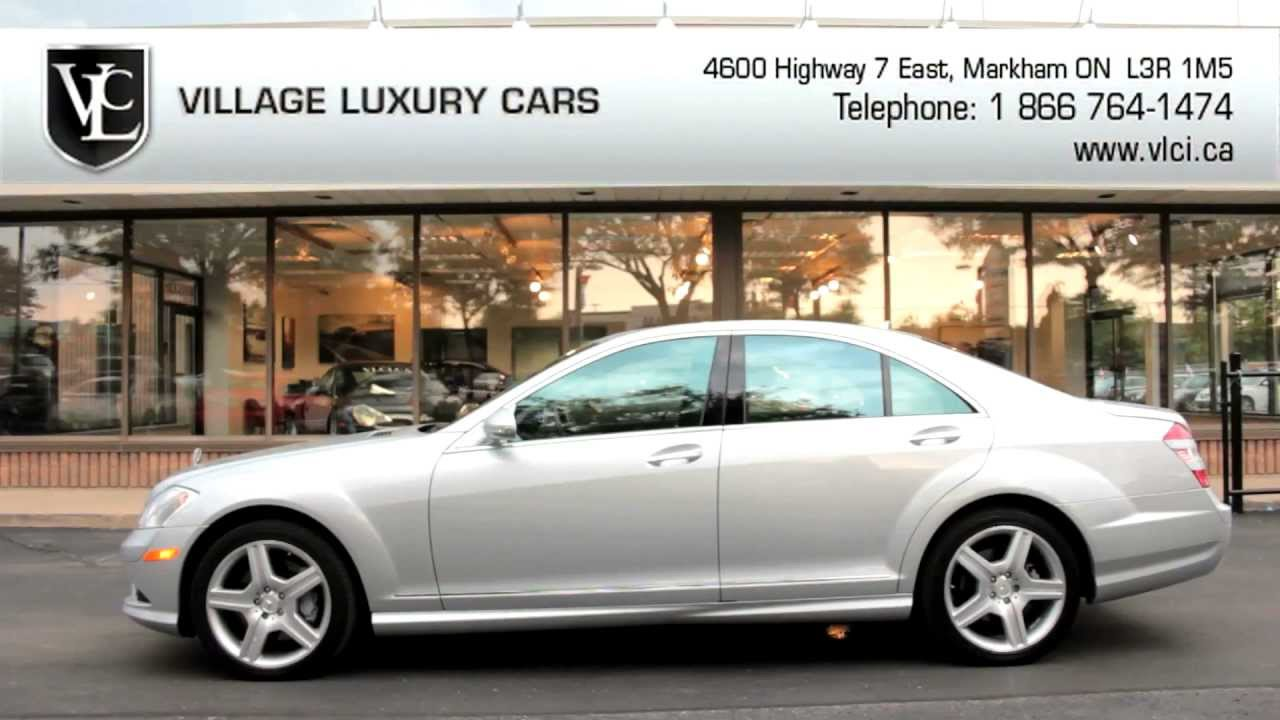 2009 mercedes benz s450 4matic village luxury cars for Mercedes benz markham