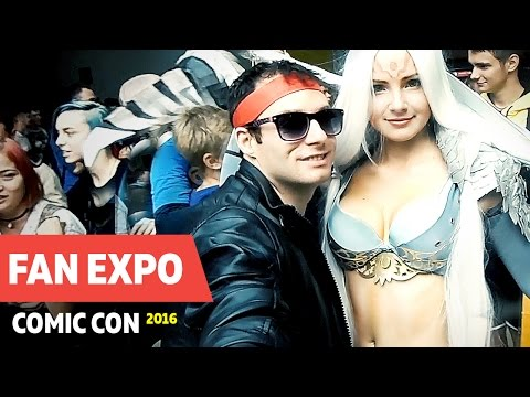 Kung Fury - Fan Expo Odessa Comic Con 2016 Фестиваль Комик Кон | Кунг Фьюри Flash Positive VLOG