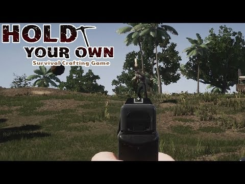"""HOLD YOUR OWN """"UNA ISLA MUY PELIGROSA"""" (SURVIVAL EARLY ACCESS)"""