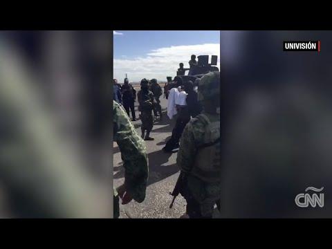 VIDEO: EL TRASLADO DE 'EL CHAPO' TRAS SU CAPTURA