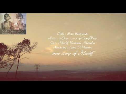 SATU SENYUMAN - SonyBLVCK X I-Chon KMGC - (Video Lirik) Lagu Ambon Terbaru