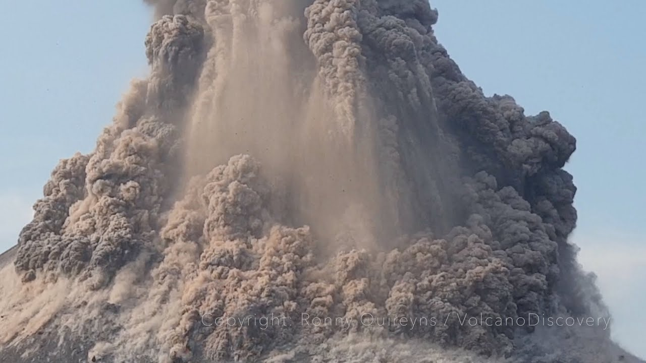 WATCH: Stunning Video of Krakatoa Erupting Lava and Ash