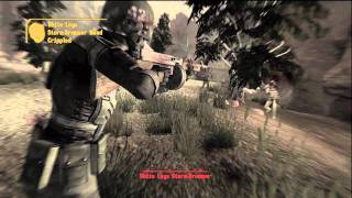 Fallout New Vegas Zion .45 weapons in action, awesome VATS kills