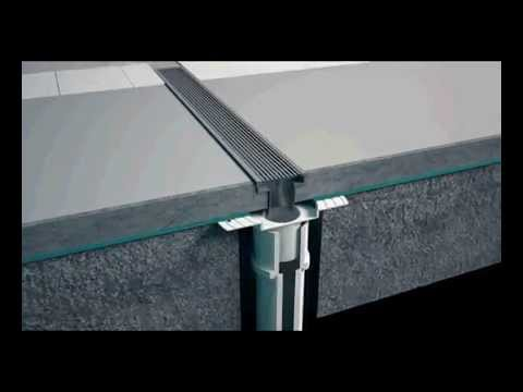 How to install your linear shower drain and grate in many ...