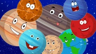 Planet Song | Preschool | Solar System Song