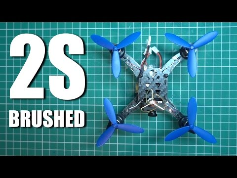 Brushed 2S Micro Quad CX-117