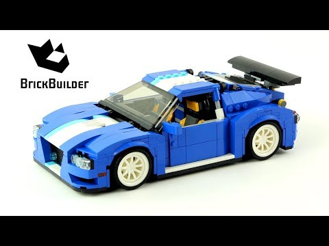 Lego Creator 31070 Turbo Track Racer Lego Speed Build Youtube