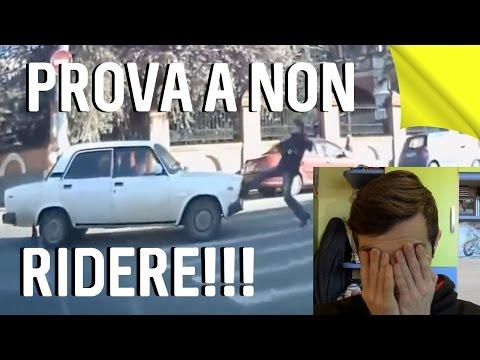 SE RIDI...PERDI!!! I PEGGIORI IDIOTI IN AUTO E MOTO