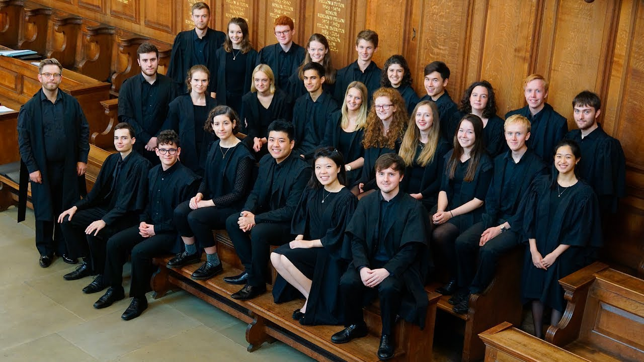 The Choir of Somerville College, Oxford - Home
