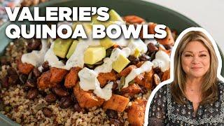 Valerie Bertinelli's Quinoa, Sweet Potato & Black Bean Bowls   Valerie's Home Cooking
