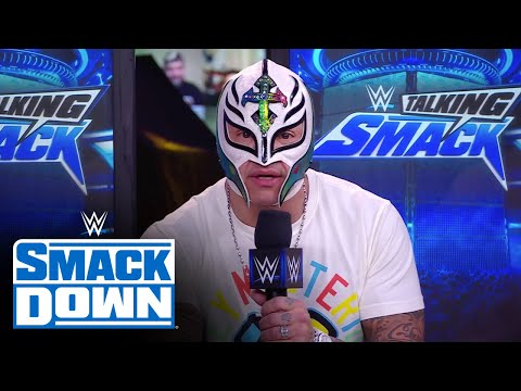 Rey Mysterio warns of a hurricane coming to Chad Gable & Otis: WWE Talking Smack, Mar. 6, 2021