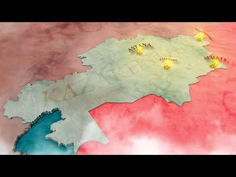 Maps Kazakhstan