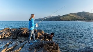 Balıklar Kıyıda Arkadaşlar!!! Yine Muhteşem Bir Koyda Balık Avındayız. - 06 Mart 2017