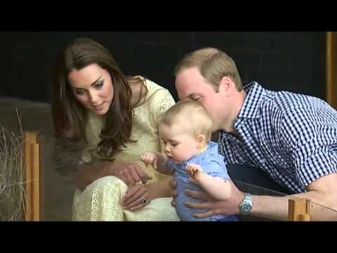 Prince George's Royal Tour scrapbook