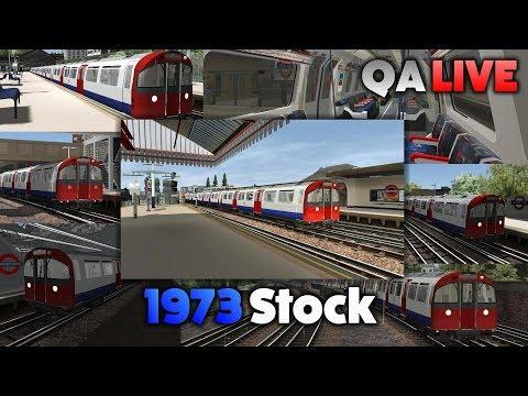 TS 2017 - 1973 Stock: Ealing Common to Baron's Court - QA LIVE