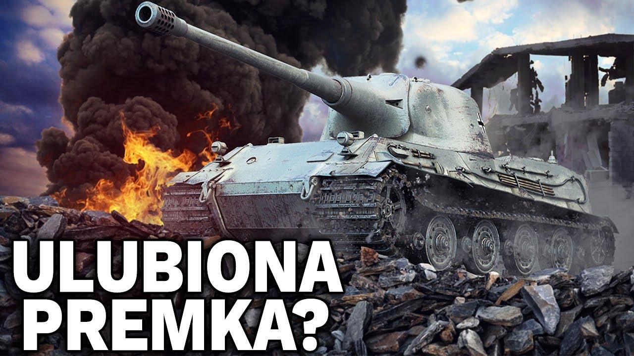 MOJA ULUBIONA PREMKA? – 3. BIEGŁOŚCI na Löwe – World of Tanks