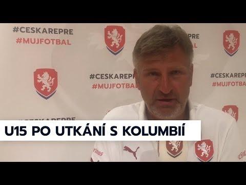 Ohlasy z tábora české U15 po utkání s Kolumbií