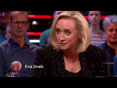Eva Jinek interviewde Hillary Clinton