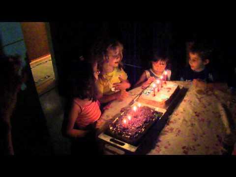 Happy Birthday song in Serbia - Rodjendanska Pesma