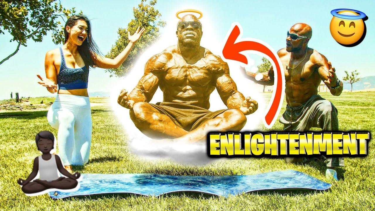 BIGGEST BODYBUILDER DOES YOGA?! | Kali Muscle