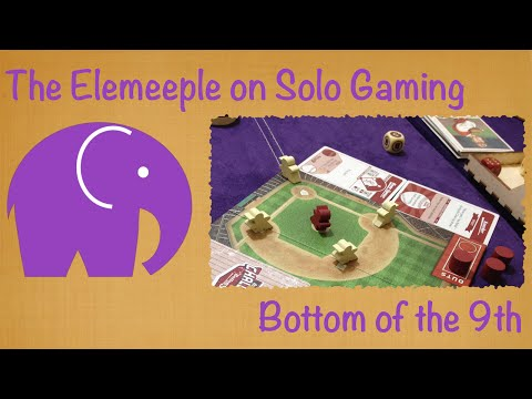 Bottom of the 9th Playthrough/Review - A Solo Perspective