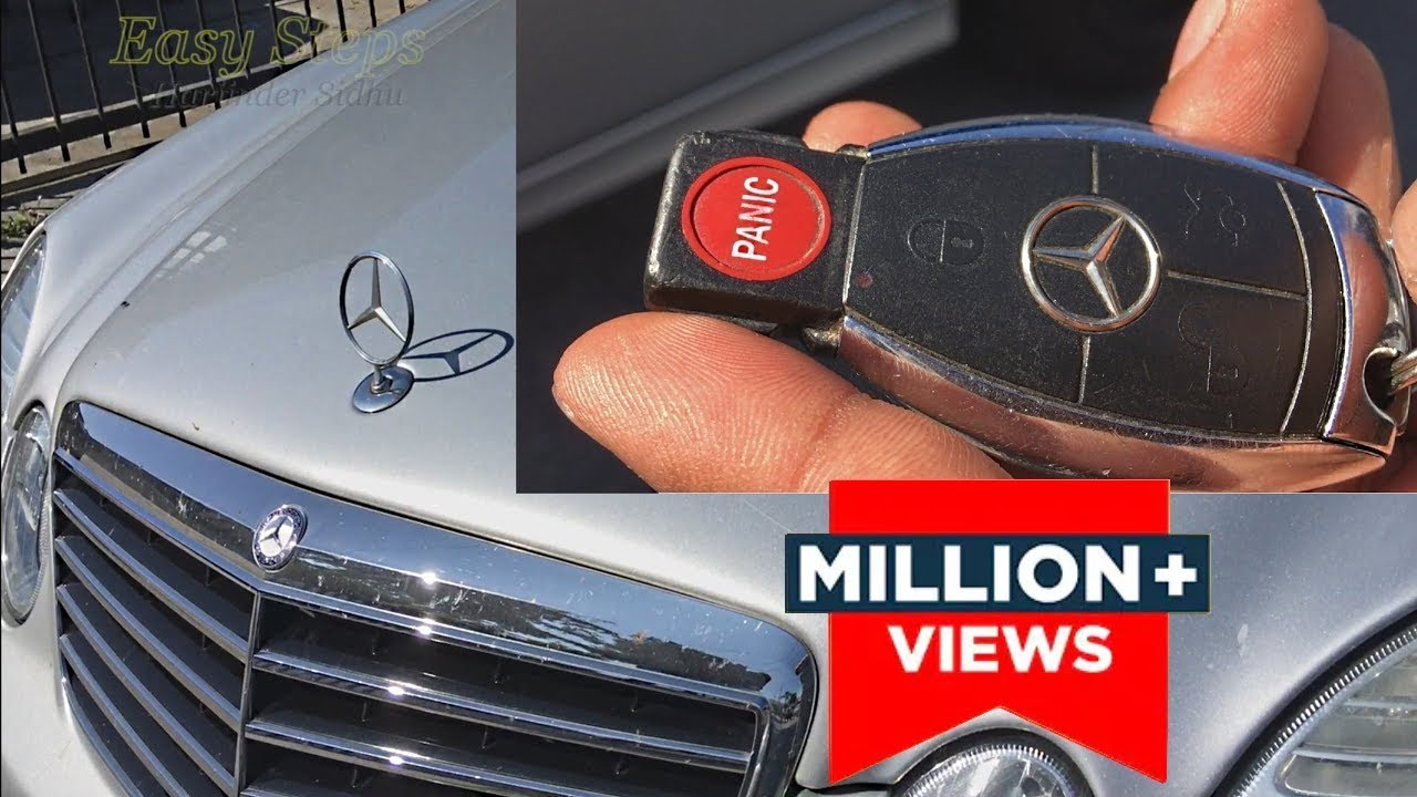 SOLVED  How To Fix Mercedes Key FOB Not Working | Smart KeyFob Not Working  YouTube