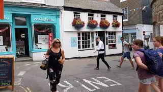 St Ives town walk through 2018