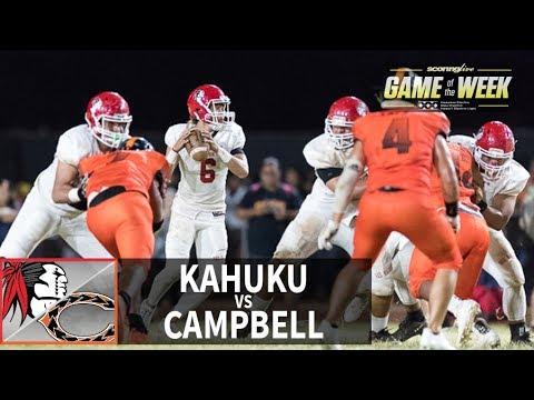 SL Replay | Kahuku vs. Campbell: OIA Blue D1 Football (Sept. 29, 2017)