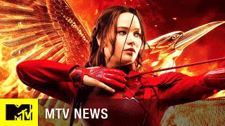 Jennifer Lawrence Says Goodbye to 'The Hunger Games' | MTV News