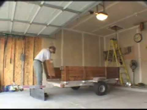 Garage Trailer Lift I Like To Call The Trailer Quot My