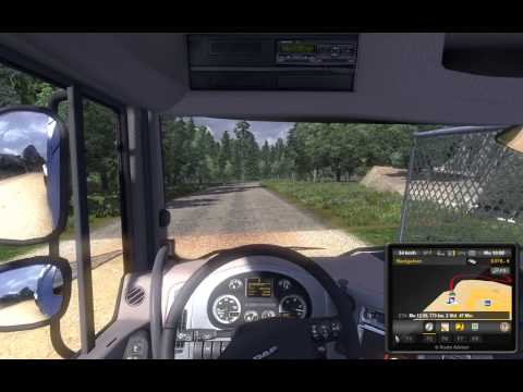 Euro Truck Simulator 2 - Map Africa + Spain and The Europe is bigger MAP DOWNLOAD