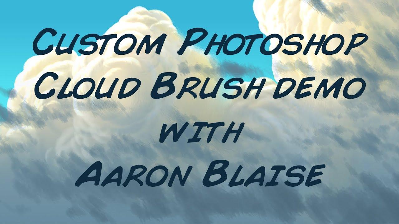 painting clouds custom photoshop painting tutorial cloud brush