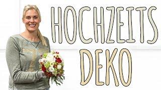 HOCHZEITSDEKO - EIN ABEND MIT MIR IM BLUMENLADEN - VLOG