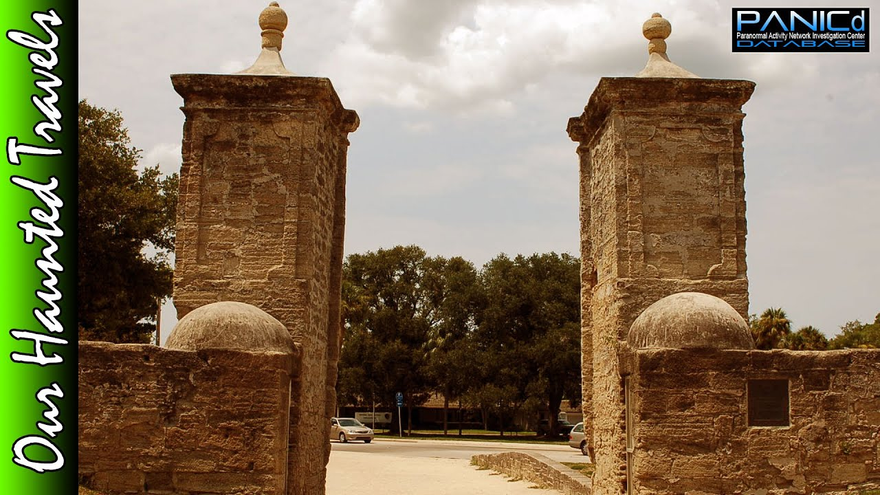 Orbs of St. Augustine City Gates by: Our Haunted Travels - PANICd