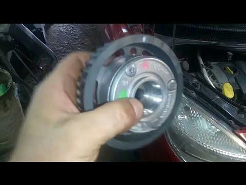 Замена Vanos(фазорегулятор)  и ремня ГРМ Renault Scenic