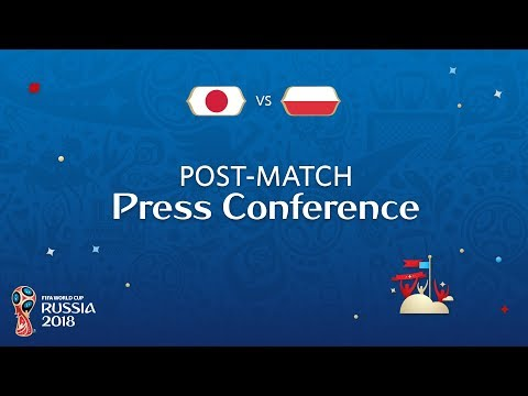 FIFA World Cup™ 2018: Japan V. Poland - Post-Match Press Conference